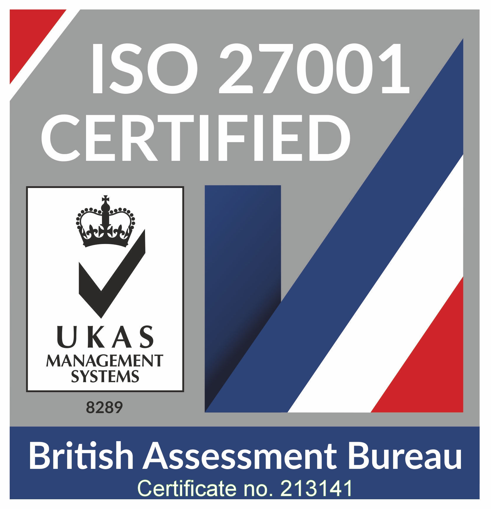 SARD JV are ISO 27001 certified by the British Assessment Bureau. Certificate no. 213141.